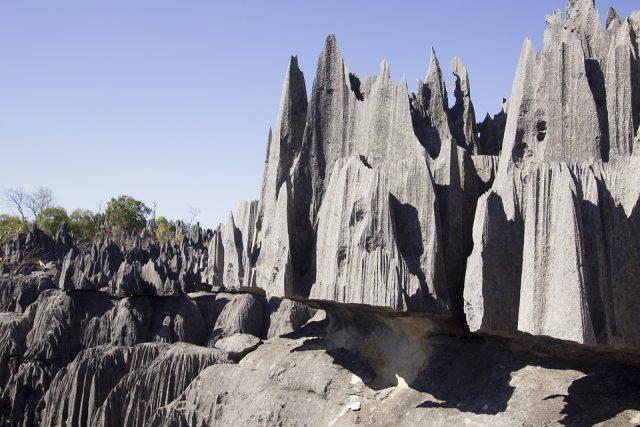 Tour d'Afrique de certains sites naturels
